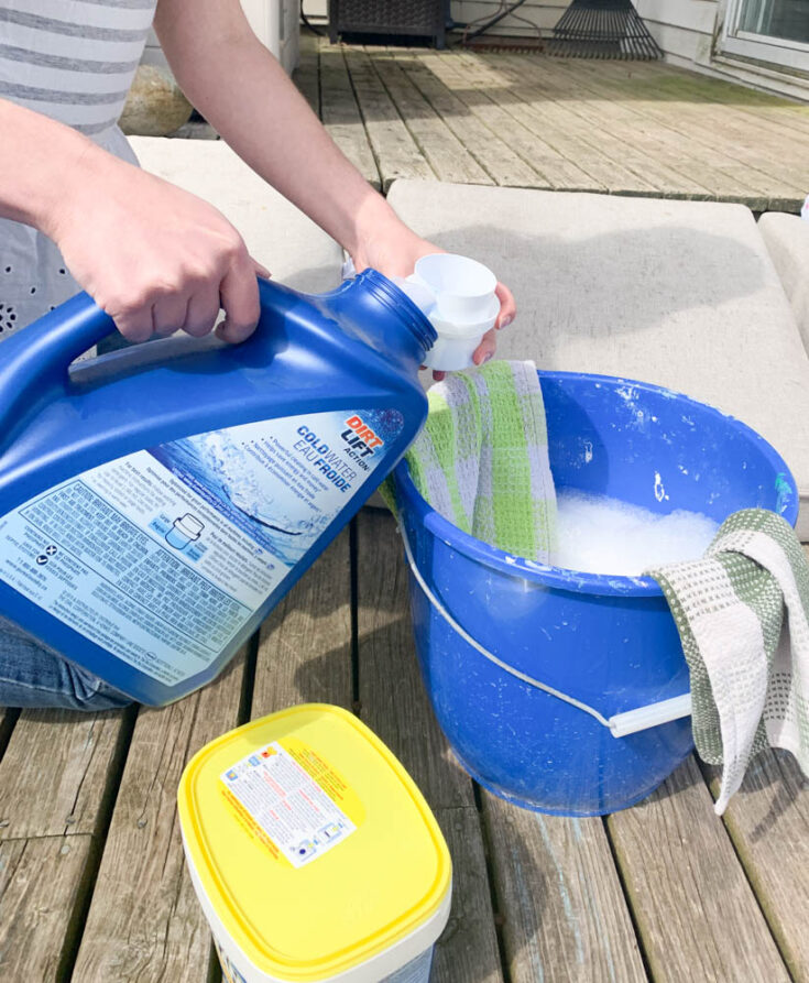 how to clean patio cushions diy passion