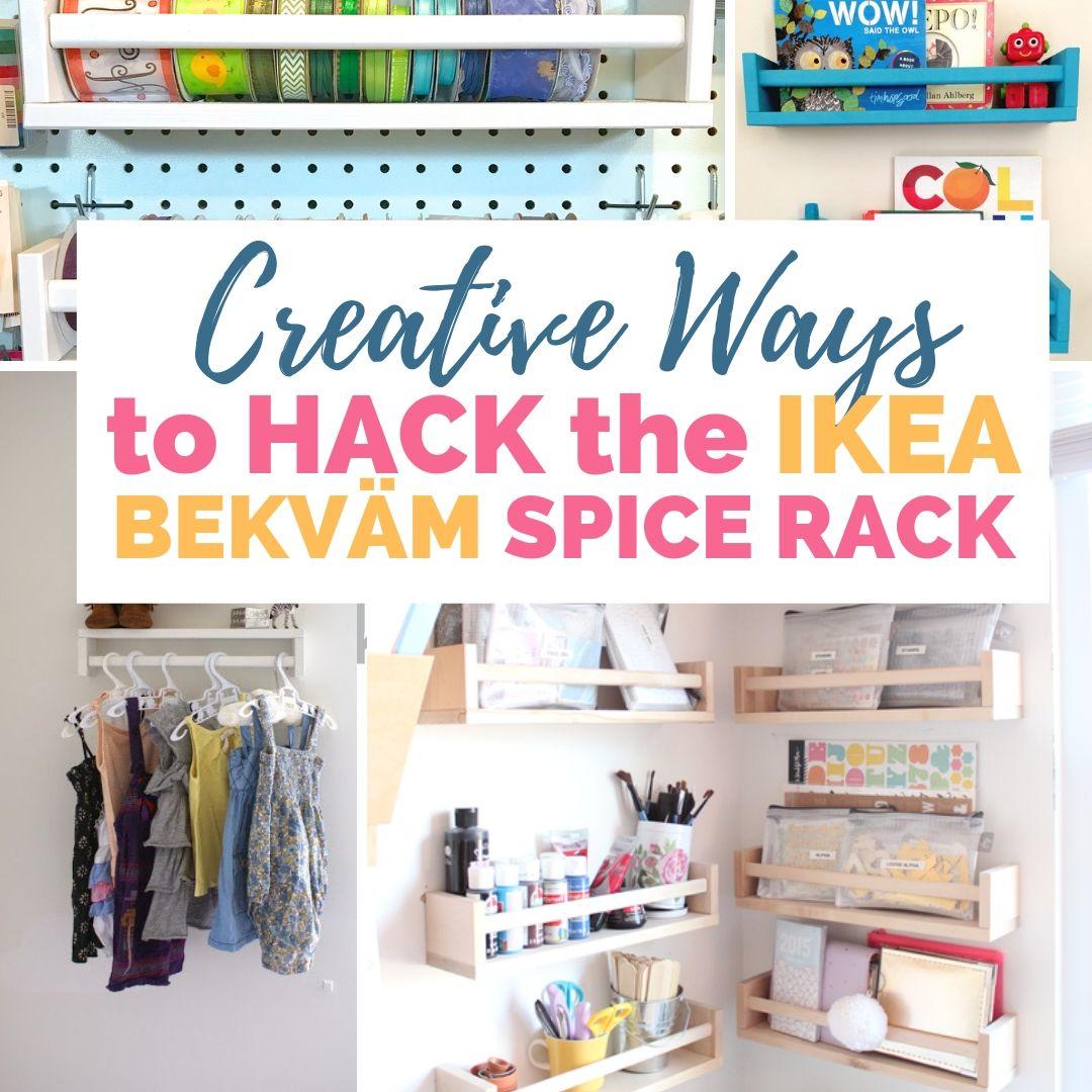 hack the ikea bekvam spice rack diy