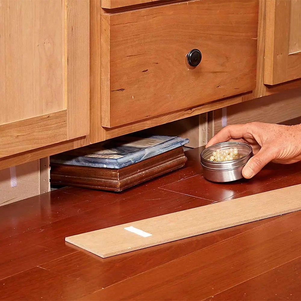 Kitchen Cabinet Toe Kick: Creative Ways To Keep Valuables Hidden In Your Home
