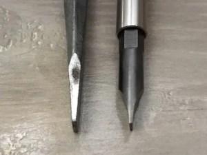 Hollow Ground Screwdriver vs Flathead Screwdriver
