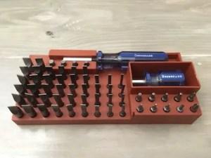 Magna-Tip Screwdriver Set Bits