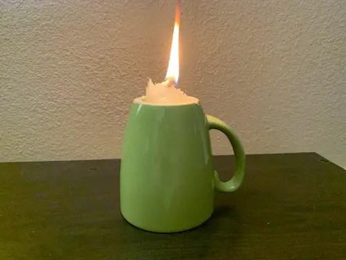 Vaseline Candle