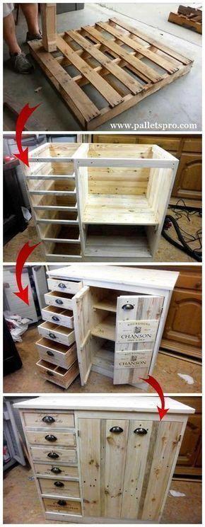 9 Diy Pallet Dresser-diy Home How To Do
