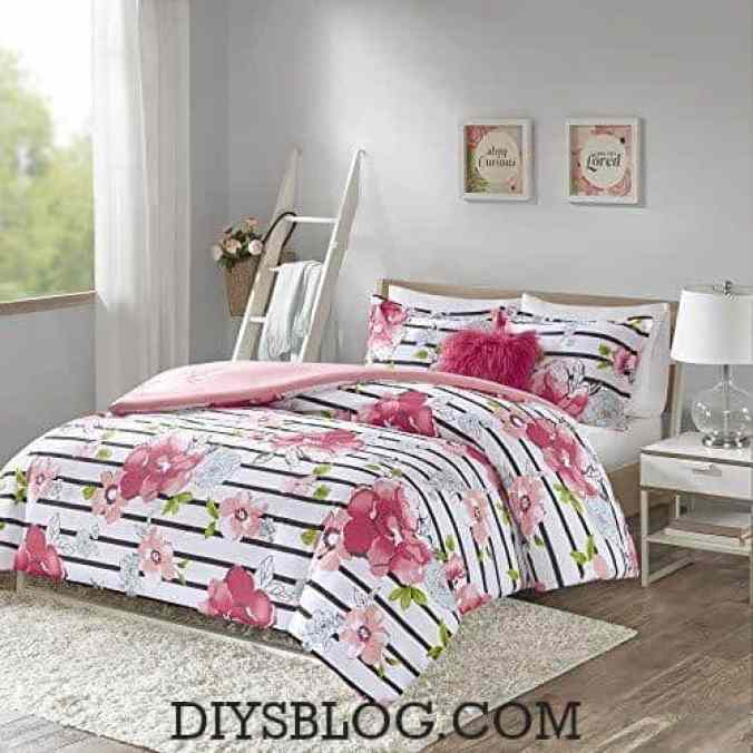 Best 14 Comforter Bedding Pink Ideas