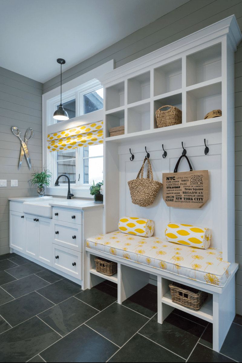 Small laundry and mud room inspiration diy swank - Laundry room design ideas ...