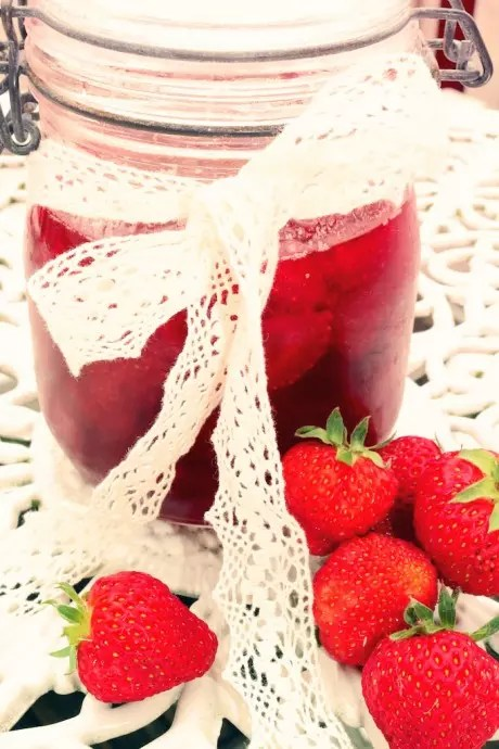 Hemkokt jordgubbssylt
