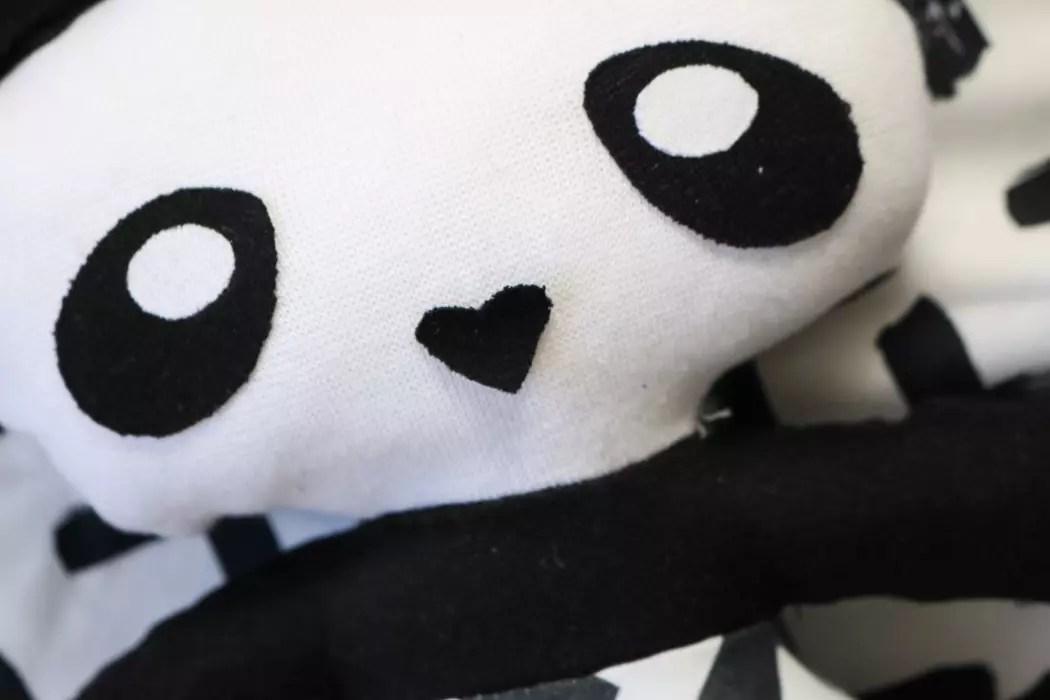 Djurkuddar : Panda diy sweden