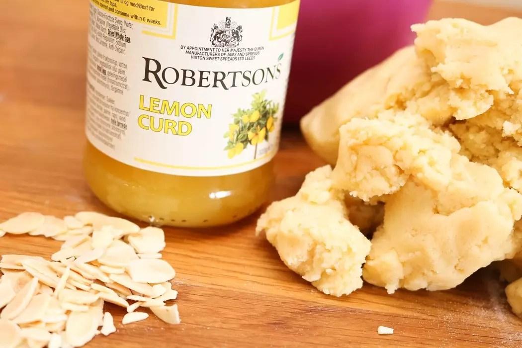 Lemon curd - Marängkakor