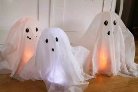 Diy: Svävande spöken