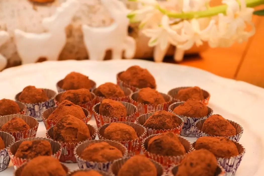 Choklad & Lakritstryffel