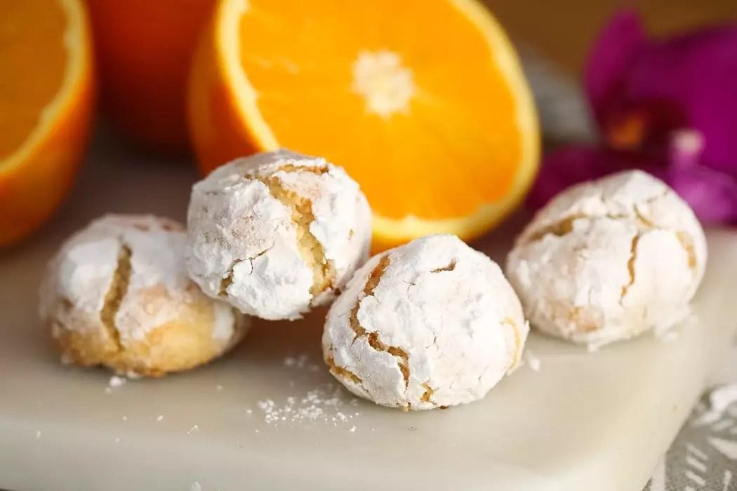 Apelsincookies