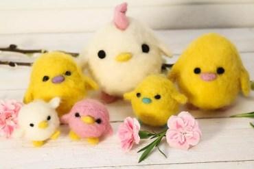 Påskpyssla kycklingar