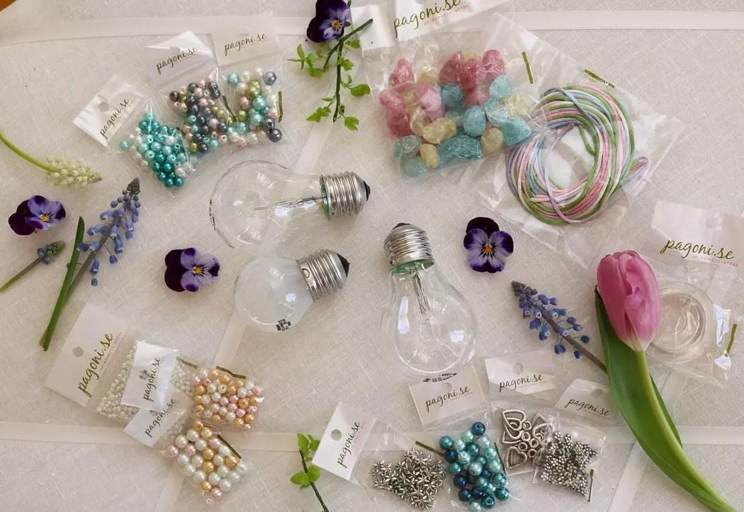 Påskpyssel med pärlor