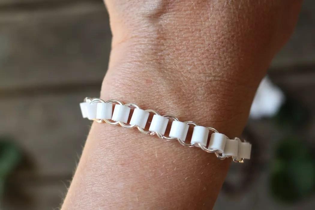 Armband med rörpärlor