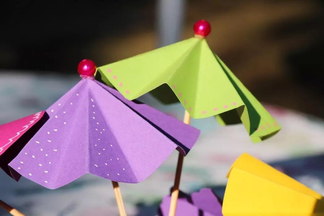 Parasoller och fruktdrinkar