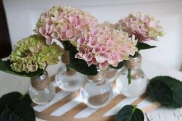 Kul återbrukspyssel till blommor