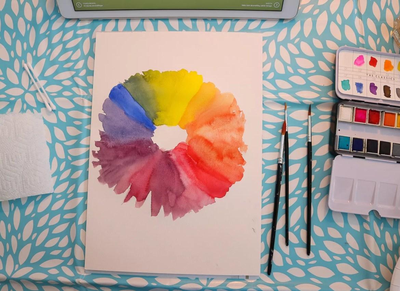 Akvarellkurs