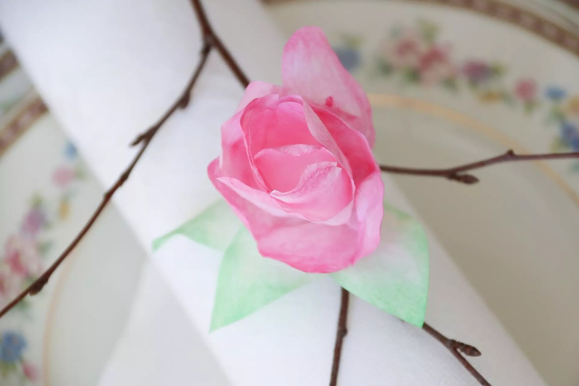 Diy: Pappersblommor