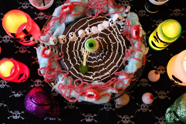 Halloweentårta