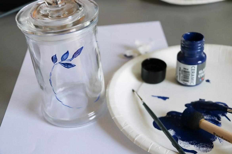 Pyssel med glasfärg
