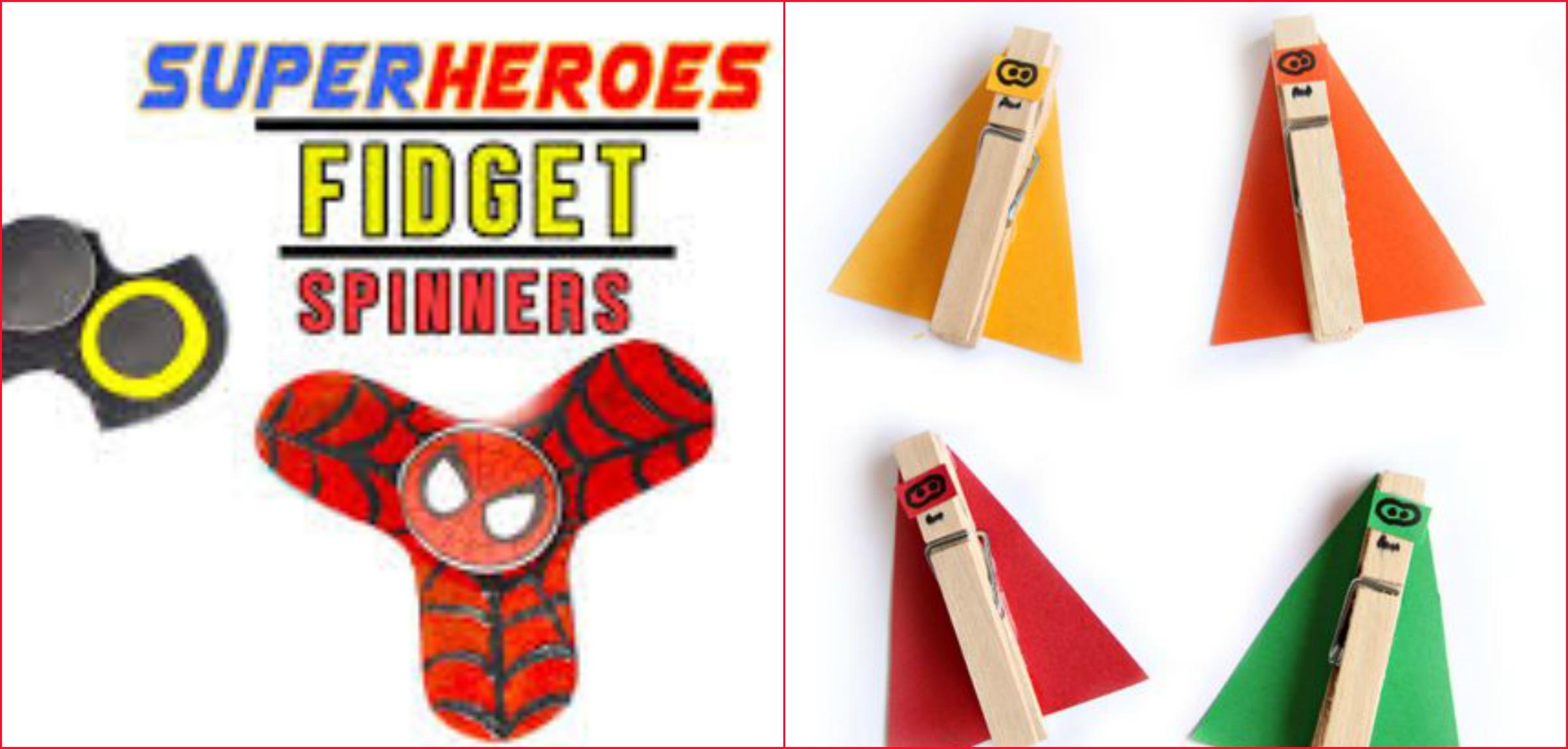 5 Fun Superhero Kids Crafts
