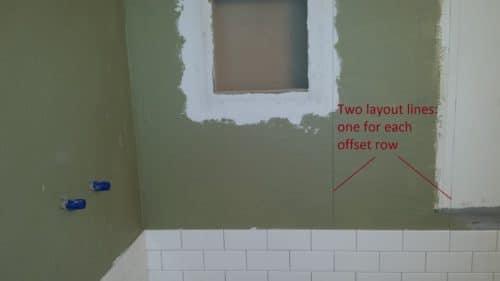 subway tile installation three basic