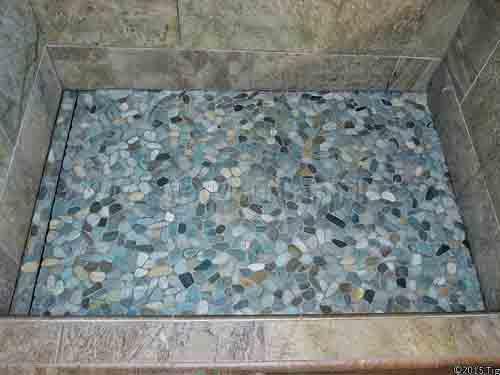 miserable pebble tile flooring diytileguy