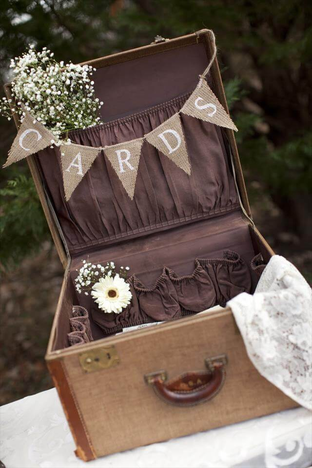 18 DIY Old Suitcase Projects DIY To Make