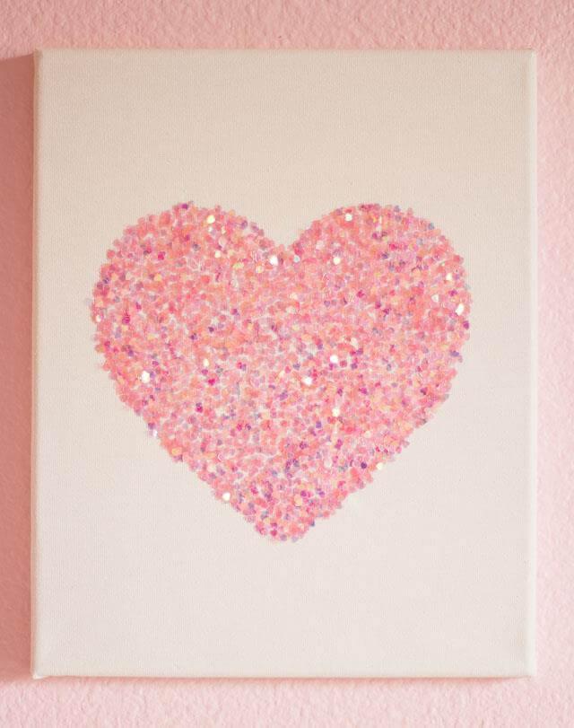 9 DIY Easy Glitter Wall Art Ideas DIY To Make