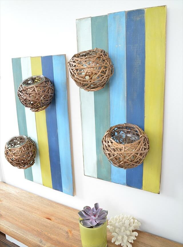 15 DIY Wood Decor Projects | DIY to Make on Wood Wall Sconces id=56286