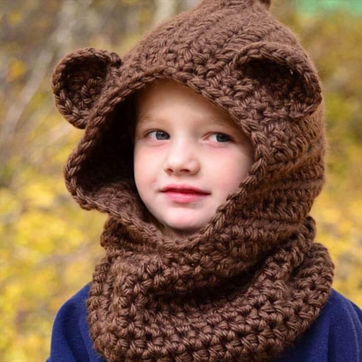 Easy Crochet Pattern Beard Hat