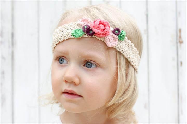 Knit Headbands For Girls