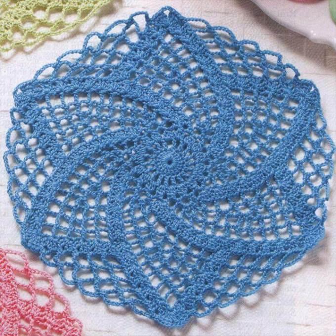 Free Halloween Crochet Doily Patterns Frameimage