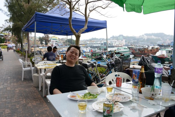 Seafood Street in Cheung Chau