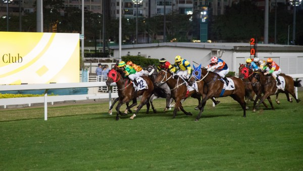 Horse Racing at Happy Valley Racecourse