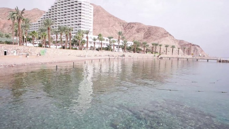 Princess Beach, one of the Eilat free beaches