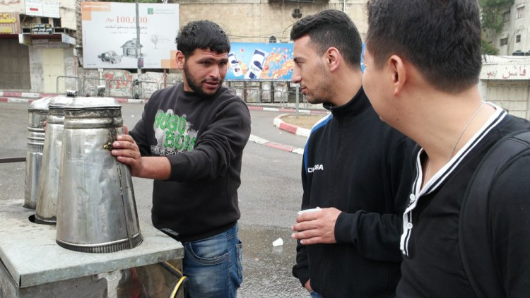 Coffee Vendor in Hebron