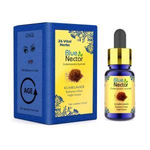 Blue Nectar Radiance Glow Night Serum