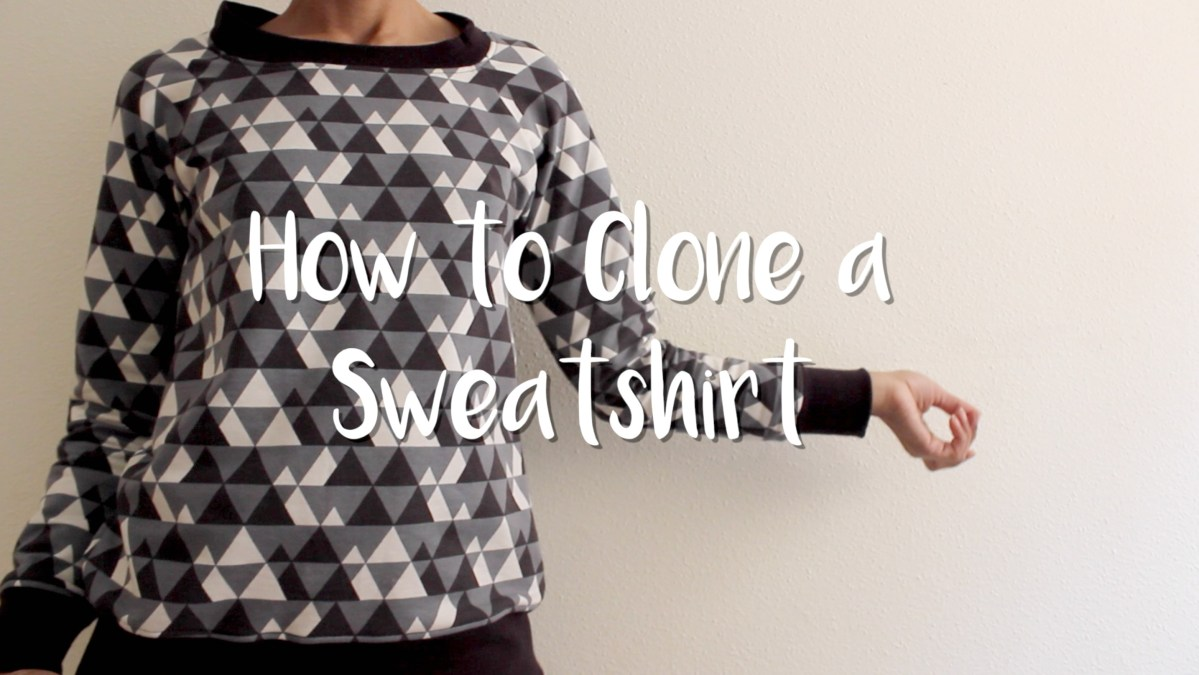DIY - Cómo clonar una Sudadera | How to clone a sweatshirt