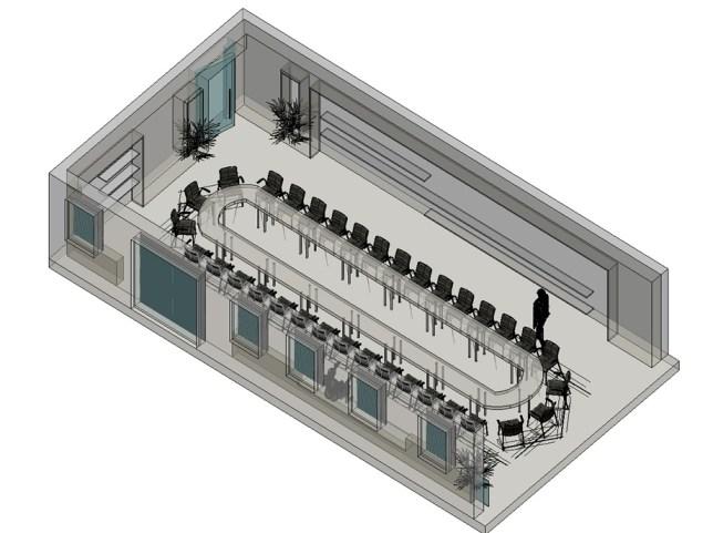 3D prikaz sale