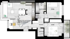 Glavni projekt uređenja stana
