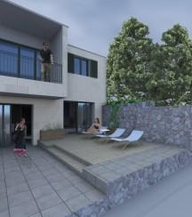 3D kuće danju