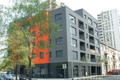 Residential building Trg Sportova, Zagreb