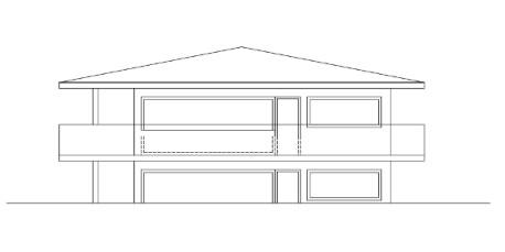 Idejni varijnta 2, oblik zgrade