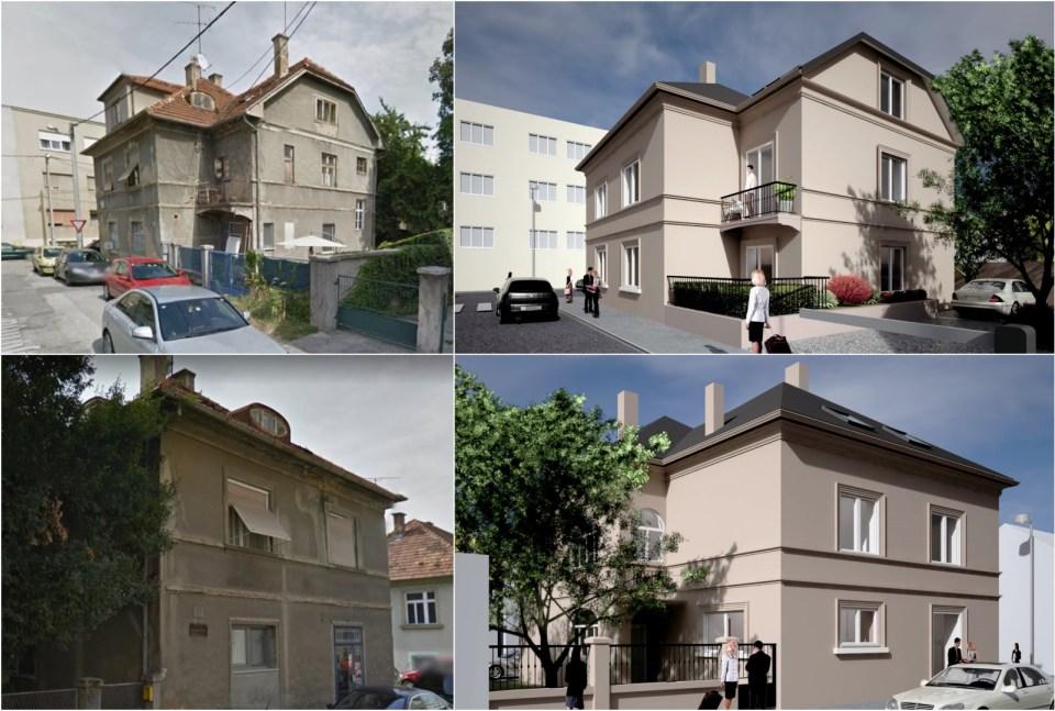Zgrada prije i poslije