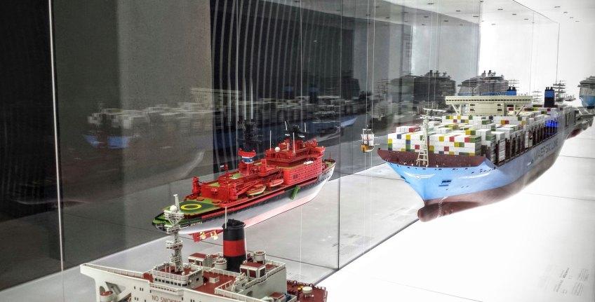 Hydropolis - modele statków