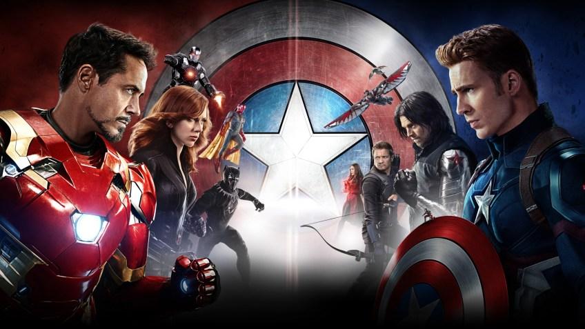 captain amrica civil war