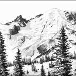Mt. Rainier, Sunrise Side