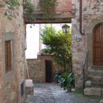 Back street in Monte Firoelle