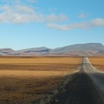 Dempster Highway and pass to Northwest Territories, Yukon